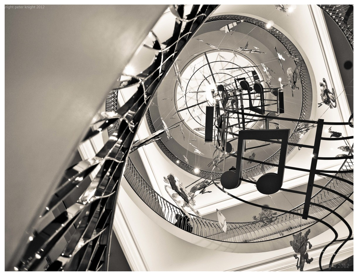 Inspired by a recent wordpress blog I viewed today, I wanted to post these pictures taken with my Olympus micro 4/3 camera a few months ago. The second and third pictures are of the amazing staircase inside one of London's finest stores.