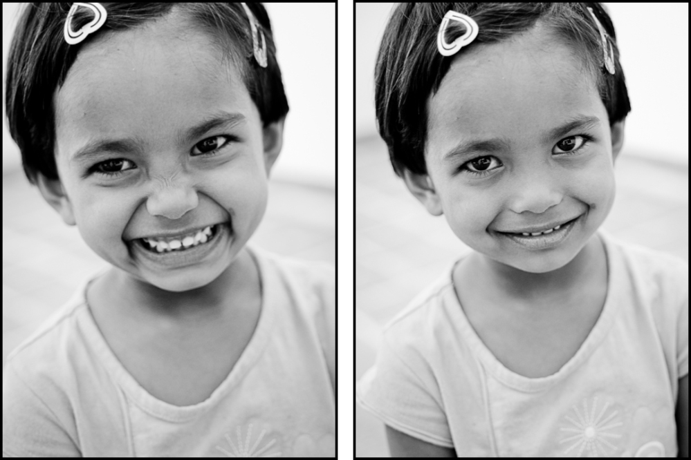 My little friend posing beautifully for some portraits, Hyderabad, 2013