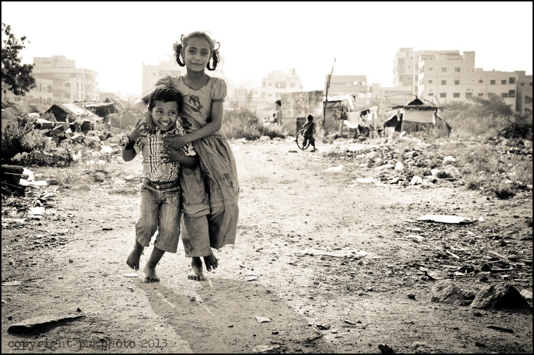Dalits, India, Hyderabad, black and white photography