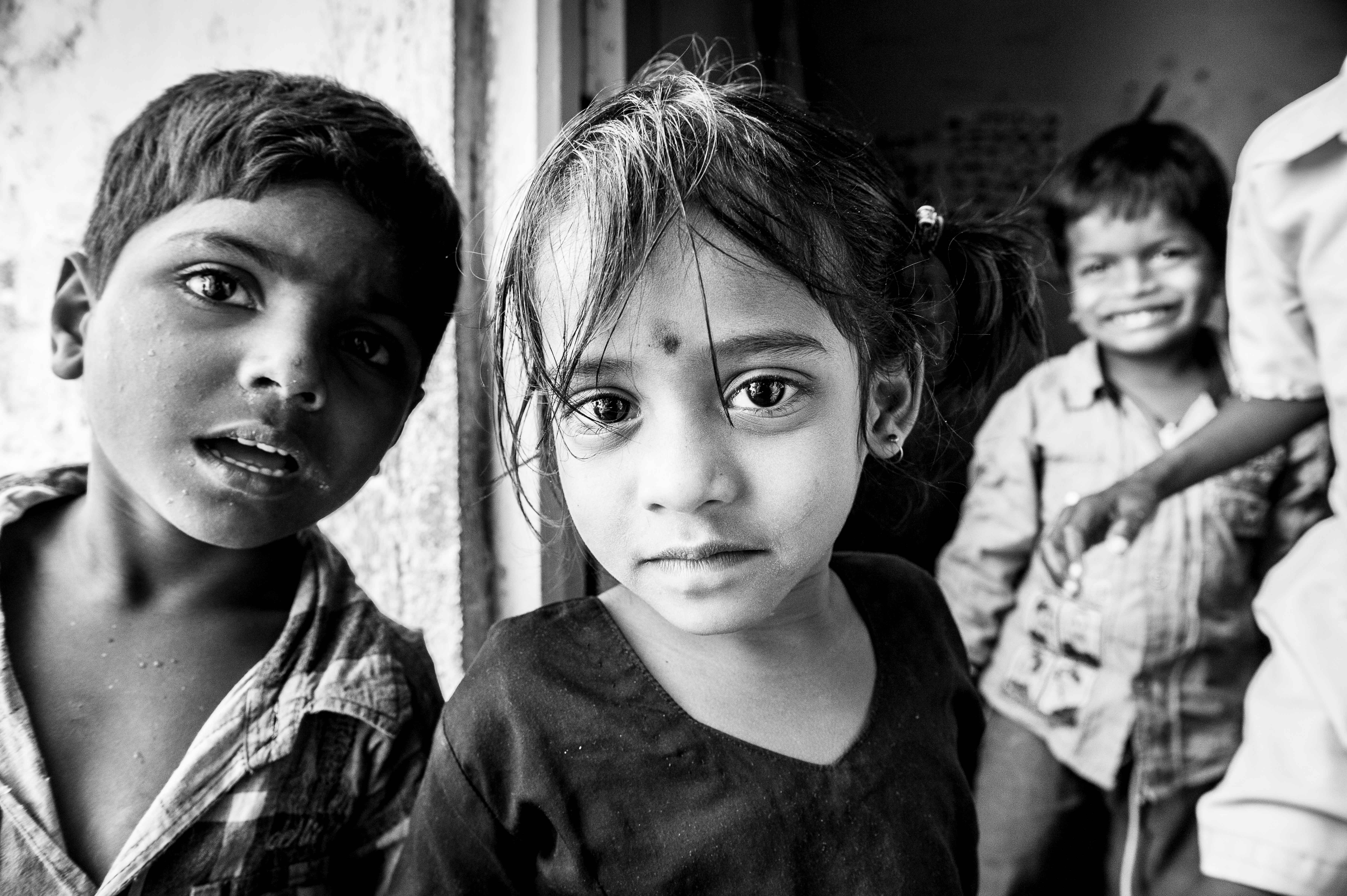 New to school after an early retirement from childhood labour children of hyderabad india